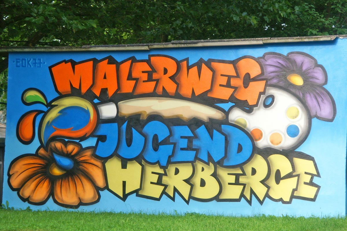 Jugendherberge Pirna - Copitz - Graffiti